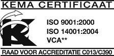 ISO-logo WML Facilitair.