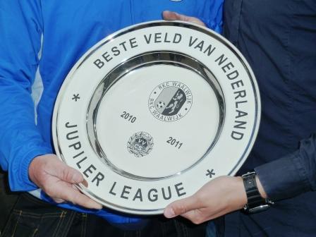 Ook het veld van RKC WAALWIJK is kampioen geworden. (c) WML Facilitair.