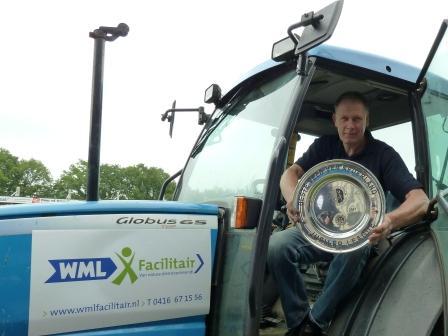 Sjef Verboven, medewerker van WML Facilitair, is enorm trots met het bereikte resultaat. (c) WML Facilitair.