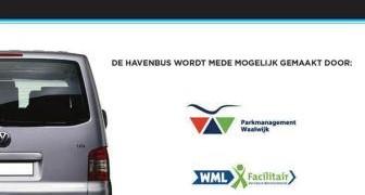 De havenbus is mede mogelijk gemaakt door WML Facilitair.