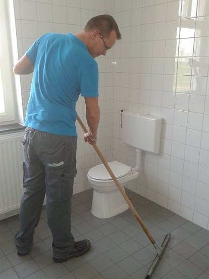 Onze schoonmakers komen graag in actie voor Van Wijnen Zuid.