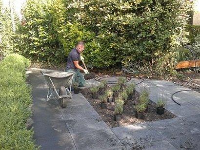 In Alkmaar ligt sinds kort een mooie en moderne tuin van WML Facilitair.