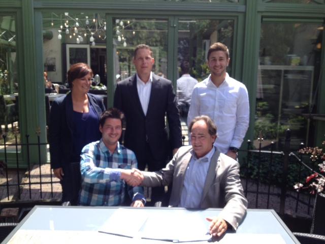 Het contract tussen RIBW Brabant, SMC en WML Facilitair is onlangs getekend.