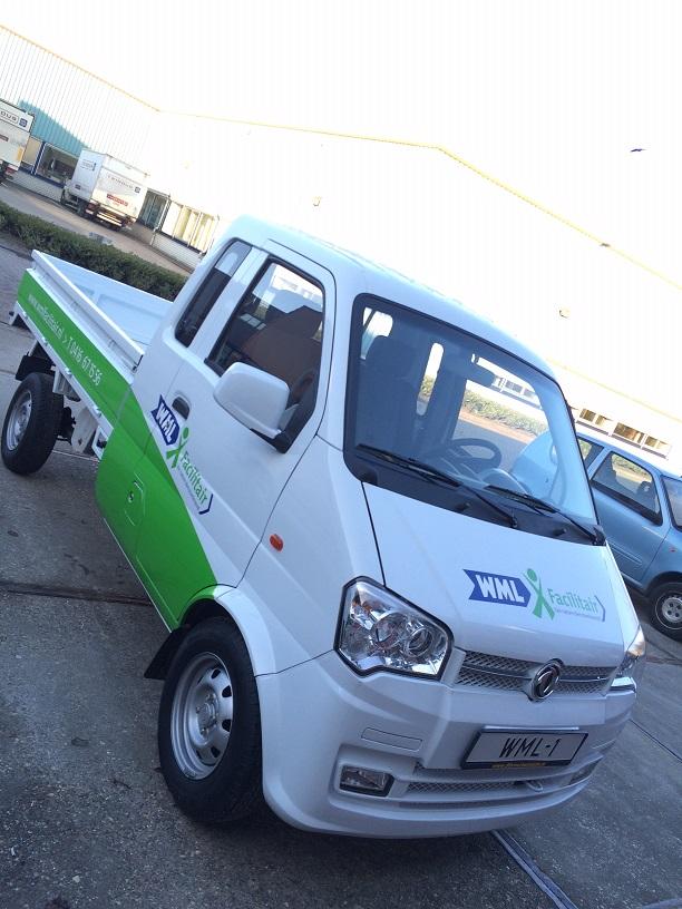WML Facilitair kiest bewust voor dit stille en schone voertuig.