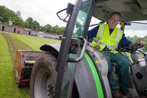 Sportverenigingen weten het zorgeloze aspect van uitbesteden van groenwerkzaamheden aan WML Facilitair te waarderen.