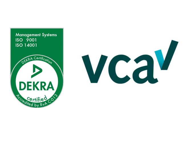 Logo's certificeringen