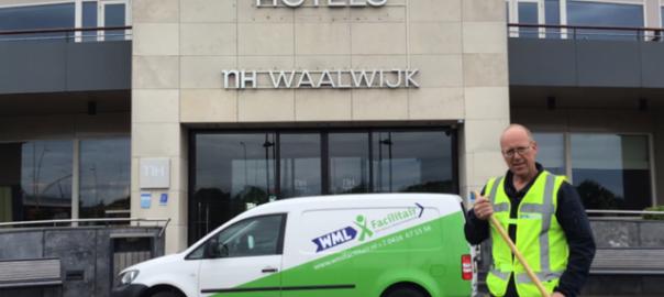 WML Facilitair tekent voor het tuinonderhoud bij het NH Hotel Waalwijk.